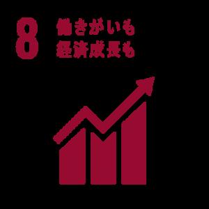 目標8:働きがいも経済成長も